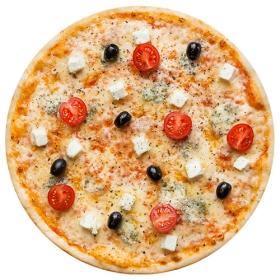 "Пицца ""Палитра сыров"" 26 см на тонком тесте"
