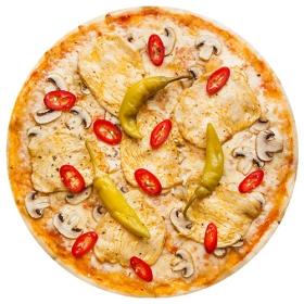 """Пицца  """"Сицилийская"""" 26 см на тонком тесте"""