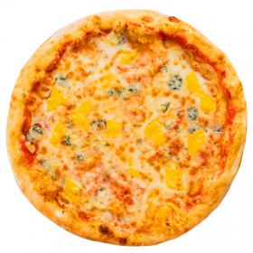 "Пицца ""Четыре сыра"" с пышным краем"